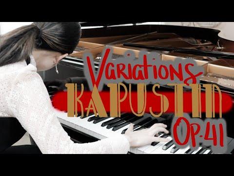 Nikolai Kapustin: Variations, Op. 41