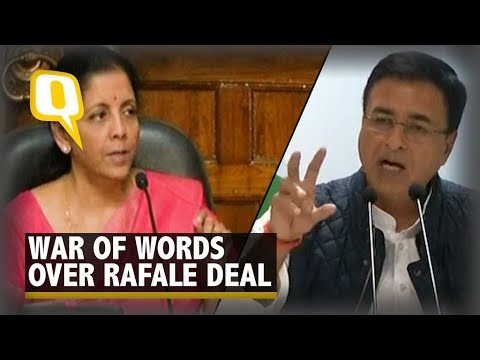 Sitharaman & Surjewala Duel in Rafale Aircraft Deal Face-Off
