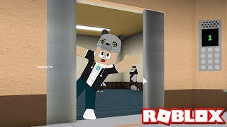 Çılgın Asansöre Bindik!! - Panda Ile Roblox The Normal Elevator