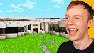 I PAID $100 FOR A HOUSE in MINECRAFT! (Luxury Mansion)