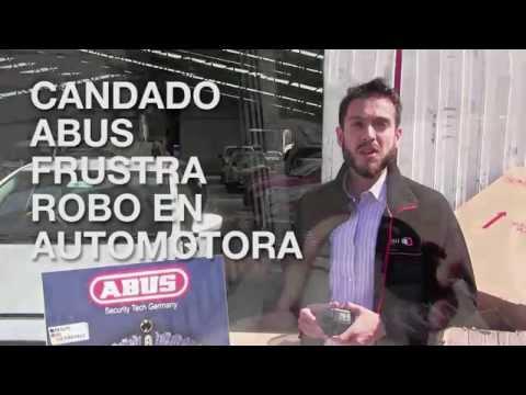 CANDADO ABUS FRUSTRA ROBO EN AUTOMOTORA
