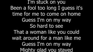 Lionel Richie   Stuck On You (with Lyrics)