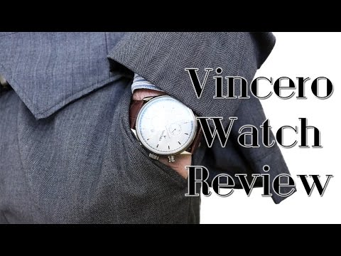 Men's Fashion 2016 I Affordable Watches I Vincero Collective Review