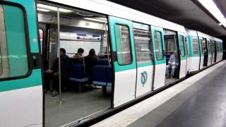 preview picture of video '[Paris] MF77 Métro 7 - Villejuif Paul Vaillant-Couturier'