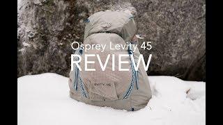 Osprey Levity 45 / Parallax Silver - відео 1