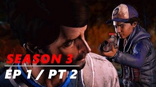 A FAMILIAR FACE! - The Walking Dead: Season 3 - Episode 1 | Part 2