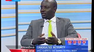 Duncan okatch on the IEBC and  it's mandate to bar candidates