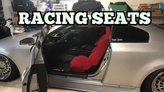 G35 gets NRG racing seats
