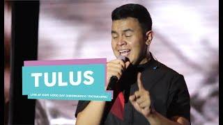 [HD] Tulus - Tukar Jiwa (Live at Kopi Good Day, Amongrogo Yogyakarta 2017)