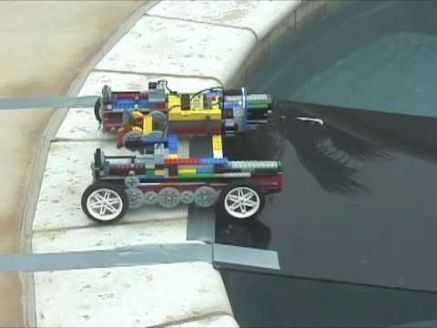 0 【動画】レゴ+水陸両用車+ラジコン