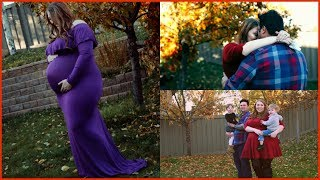 🍂 FALL FAMILY MATERNITY PHOTOS 2018 🍂 | Maggie The Mommy