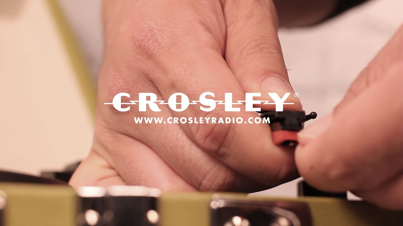 How to Change a Crosley NP6/NP1/NP78 Needle