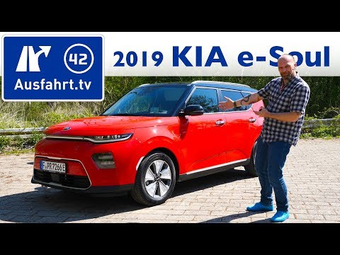 2019 Kia e-Soul 64kWh - Kaufberatung, Test deutsch, Review, Fahrbericht Ausfahrt.tv