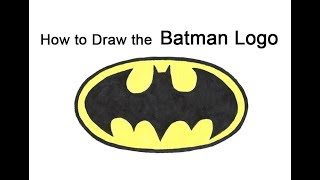 Batman Logo Drawing Tutorial 免费在线视频最佳电影电视节目 Viveos Net