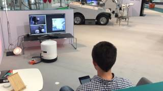 Seerose – Service robots in a Smart Home – Hannover Messe Demonstration