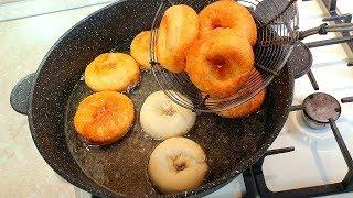 Невозможно остановиться! Невероятно вкусные, пончики Incredibly delicious, doughnuts