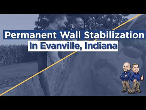 Basement Wall Bowing and Cracking in Evansville, IN