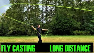 Fly Fishing Casting Long Distance and Techniques - Using Technique, the Double Haul & False Casting