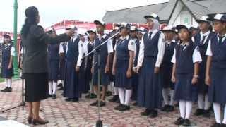 preview picture of video 'Lagu Indonesia Raya - Paduan Suara SMPN 1 Selat Kuala Kapuas'