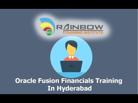 Oracle Fusion Financials Training - YouTube