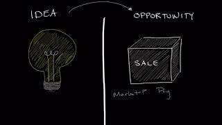 Business Ideas vs. Opportunities