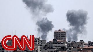 Video: Israel responds to Gaza fire with dozens of airstrikes