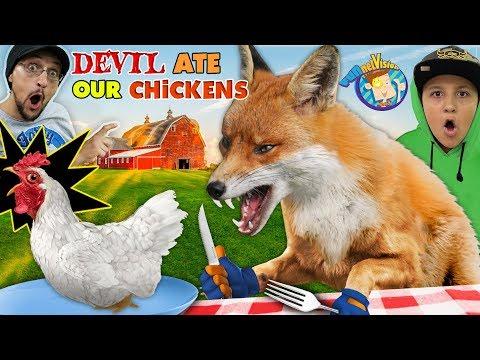 WILD FOX vs. OUR CHICKENS 😩 Spoiler: Chix didn't make it! (FV Family Vlog)