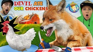 WILD FOX Vs. OUR CHICKENS 😩 Spoiler: Chix Didnt Make It! (FV Family Vlog)