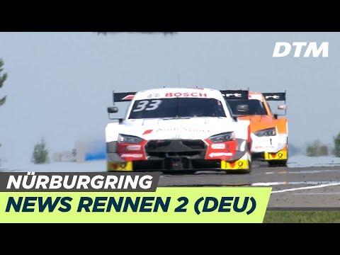 Titel-Entscheidung zwischen Rast und Müller - News Rennen 2 - DTM Nürburgring 2019