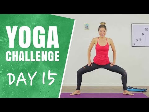 Hamstrings and Inner Thighs | Day 15 | 30 Days of Yoga Challenge
