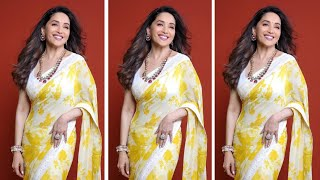 Madhuri Dixit Nene appealing to her fans to donate for the concert 'I For India'