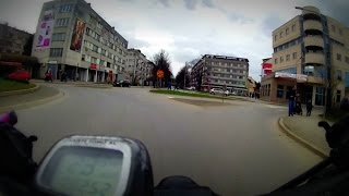 preview picture of video 'Kroz Prijedor biciklom (sa Urija do Sane); Bicycle Commute Prijedor (Urije - Sana River) (1)'