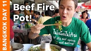 Flaming Thai Beef Soup & Bike Ride at Bang Krachao (บางกระเจ้า) - Bangkok Day 11
