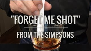 """Recreated - """"Forget Me Shot"""" from The Simpsons"""