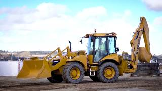 The New Hydrema F-series Backhoe Loaders - 906F