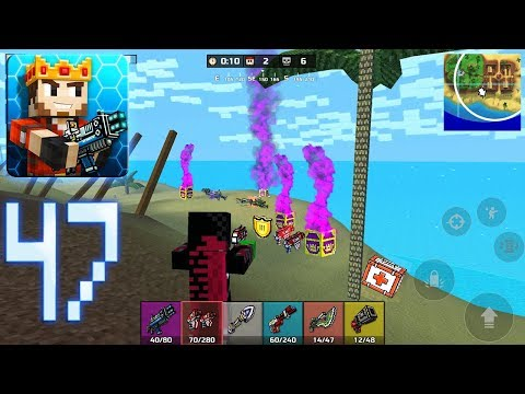 Pixel Gun 3D - Battle Royale Gameplay Part 47