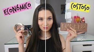 Maquillaje ECONOMICO (Colombiano) Vs Maquillaje COSTOSO!