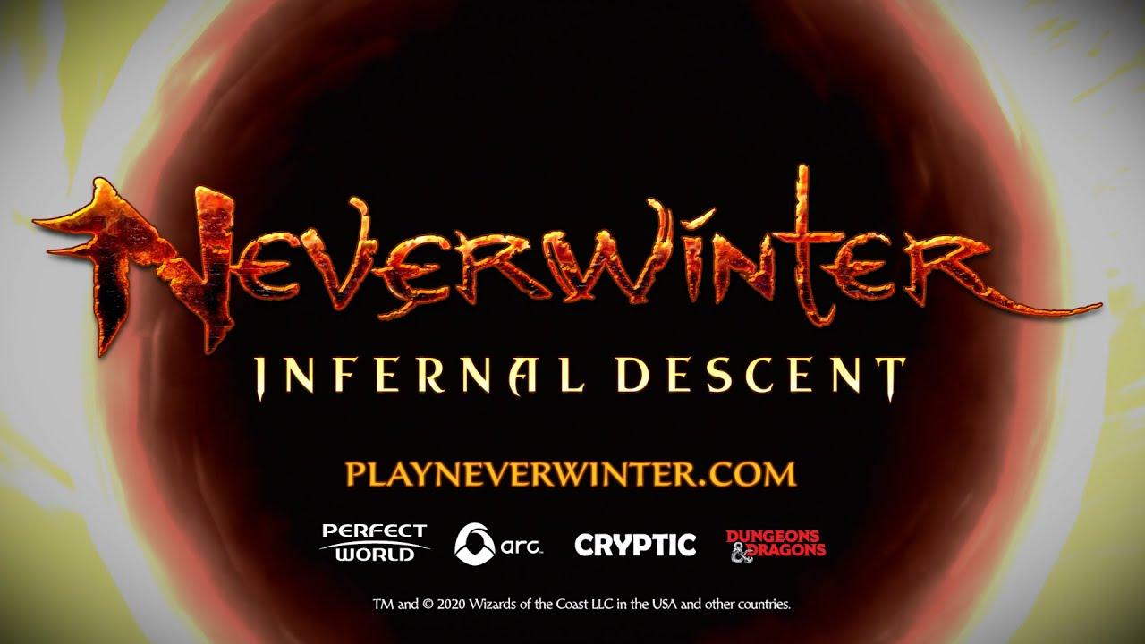 Infernal Descent di Neverwinter Online e' adesso disponibile su PC