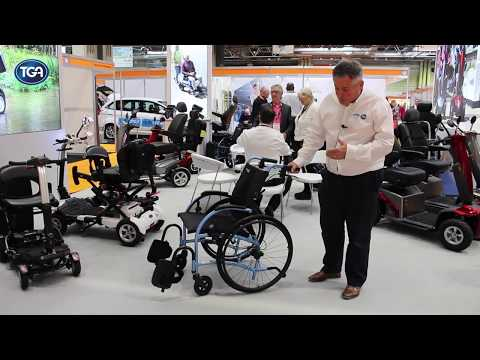 TGA Mobility: Self-propel StrongBack Wheelchair YouTube video thumbnail