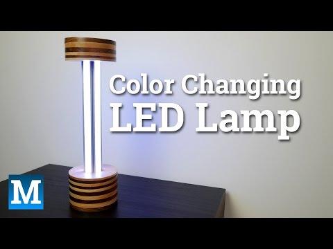 Eine individuelle und gut nachzubauende LED Lampe