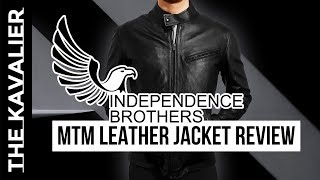 A Custom Leather Jacket??  Independence Brothers Review