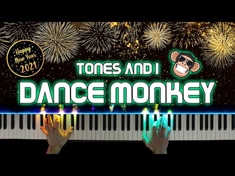 Dance Monkey - Tones and I (Piano Cover) | Happy New Year 2021!! 🎉🎊