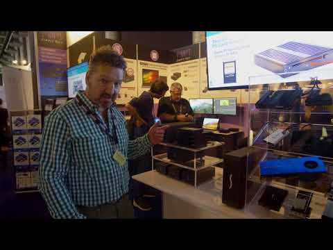 IBC 2017 - Sonnet Thunderbolt 3 SXS card reader