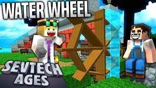 Minecraft - WATER WHEEL - SevTech Ages #42