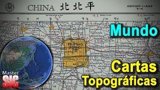 Descargar Cartas Topográficas, Mapas Del Mundo-Google Earth   MasterSIG