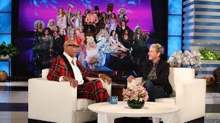 """Icon RuPaul told Ellen he wants as straight shooter Judge Judy as a guest judge on """"RuPaul's Drag Race""""."""