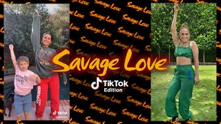TikTok edition of Savage Love   CONNECT WITH JASON DERULO: TikTok - https://www.tiktok.com/@jasonderulo Instagram - http://www.instagram.com/jasonderulo/  Facebook - http://facebook.com/jasonderulo  Twitter - http://twitter.com/jasonderulo   Official Website - http://www.jasonderulo.com/  Lyrics: If I woke up without ya I don't know what I would do Thought I could be single forever 'til I met you Usually don't be fallin', be fallin', fallin' first You got a way of keeping me comin' back to back I just found out the only reason that you lovin' me Was to get back at your ex lover but before you leave Usually I would never, would never even care Baby, I know she creepin' I feel it in the air Every night and every day I try to make you stay But your Savage love Did somebody, did somebody Break your heart? Lookin' like an angel But your savage love When you kiss me I know you don't give two fucks But I still want that Your savage love Your savage lo-lo-love Your savage lo-lo-love You could use me 'Cause I still want that (your savage) Baby, I hope that this ain't karma 'cause I get around You wanna run it up, I wanna lock it down Usually don't be fallin', be fallin', fallin' first You got a way of making me spend up all my cash Every night and every day I try to make you stay But your Savage love Did somebody, did somebody Break your heart? Lookin' like an angel But your savage love When you kiss me I know you don't give two fucks But I still want that Your savage love Your savage lo-lo-love Your savage lo-lo-love You could use me 'Cause I still want that, your savage love Ooh-la-la-la Ooh-la-la-la Your savage lo-lo-love Ooh-la-la-la Your savage lo-lo-love Ooh-la-la-la You could use me Baby Savage love Did somebody, did somebody Break your heart? Lookin' like an angel But your savage love But when you kiss me I know you don't give two fucks But I still want that Your savage love (savage love) Your savage lo-lo-love Your savage lo-lo-love Girl, you could use me 'Cause I s