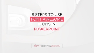 8 Easiest steps to use font awesome icons in powerpoint presentation template