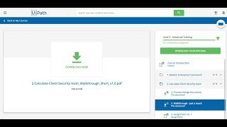 UiPath Advanced training assignment 1 demo - Самые лучшие видео