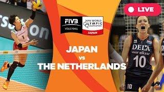 Netherlands v Japan - 2016 Women's World Olympic Qualification Tournament